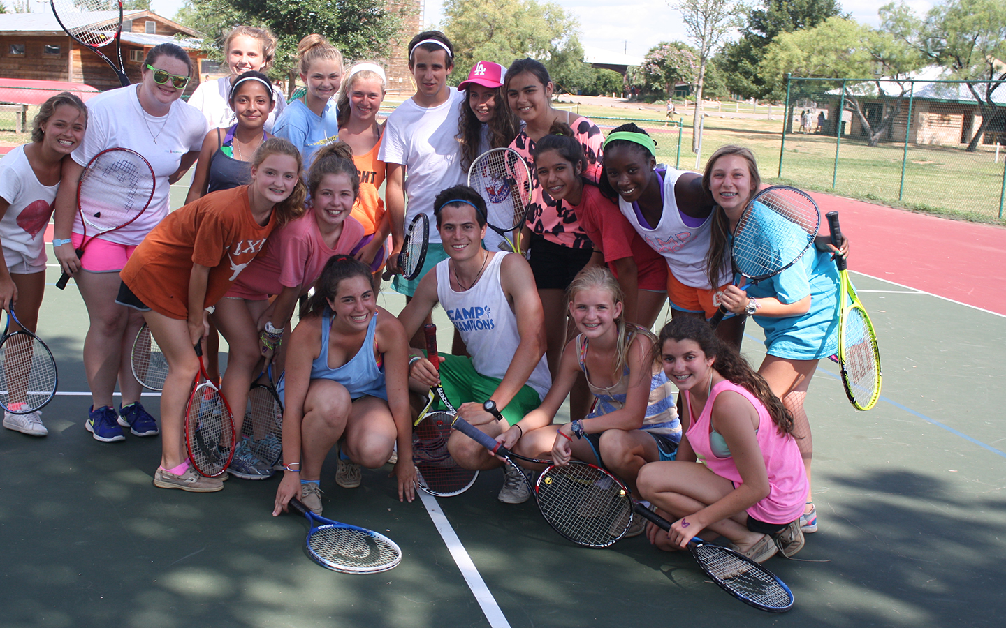 Tennis Camp Champions Texas Summer Camp Activities
