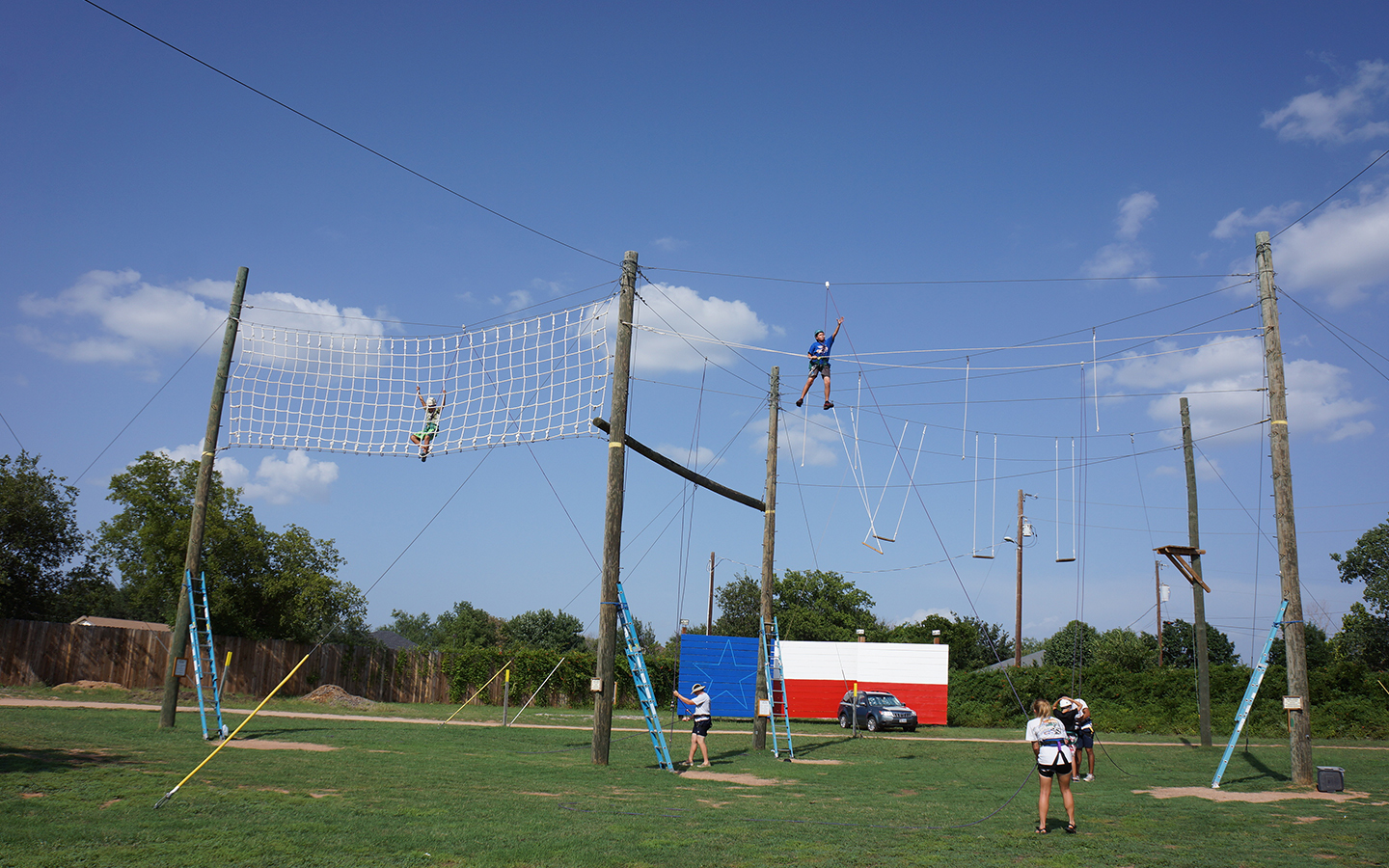 High Ropes Course at Camp Champions