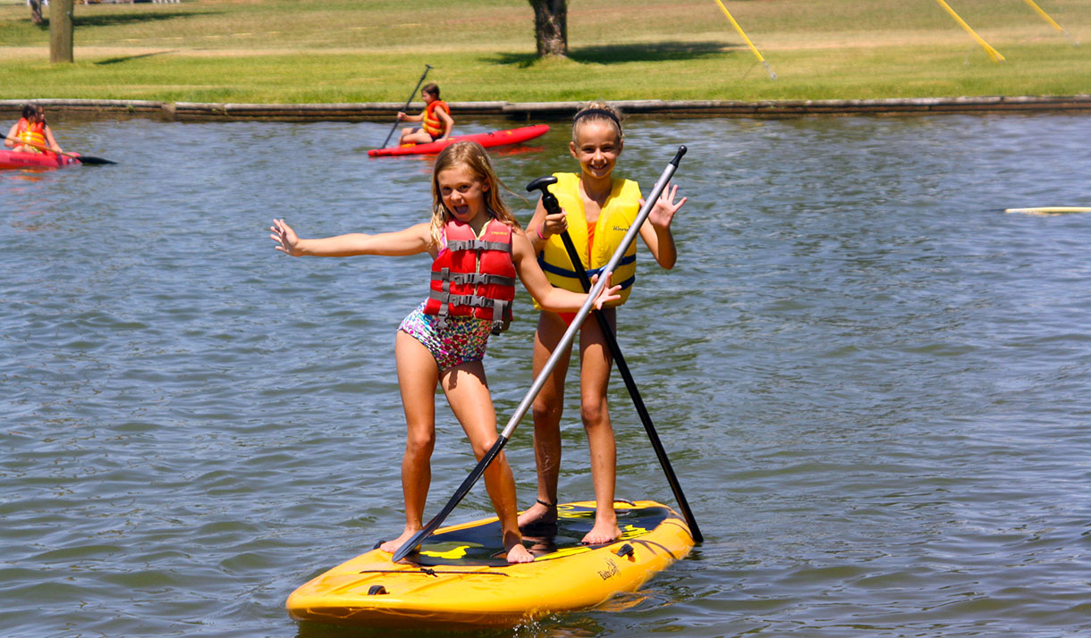 Have you tried Paddle Boarding? Its fun for one or two (or even more)...