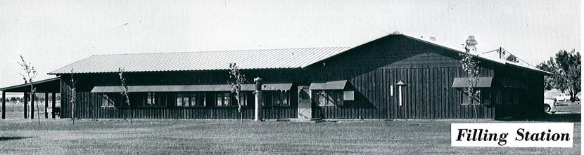 The Fillin Station as seen in 1967 at Camp Champions