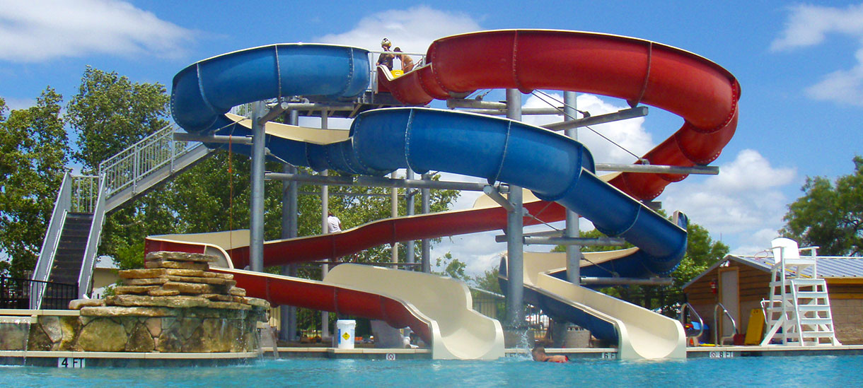I'll bet you can't wait to slide down one of these!