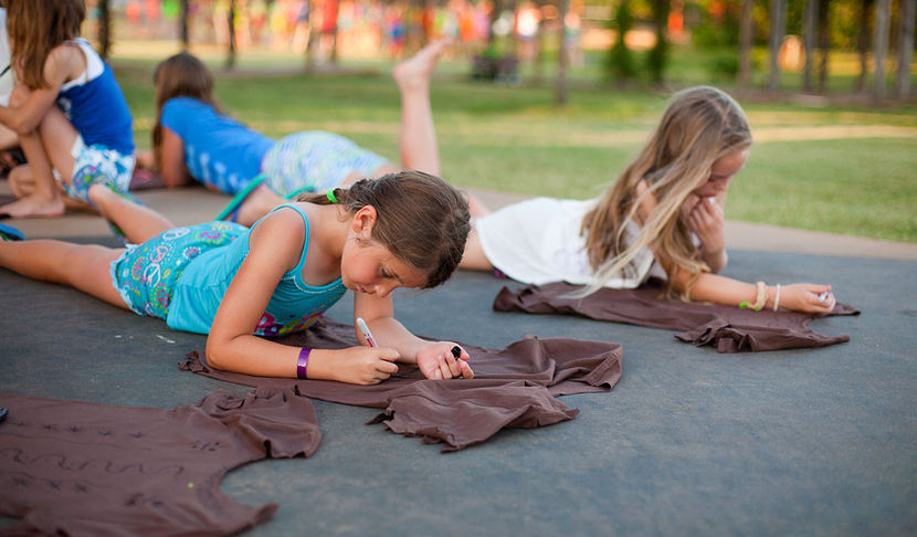 There are lots of creative projects that you'll enjoy at camp.